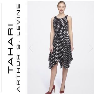 Tahari Embroidered Dress